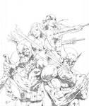 Wolverine and Team Badass