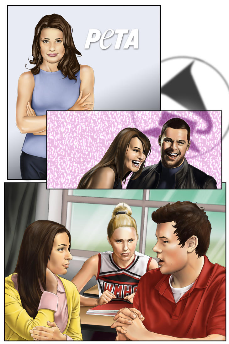 Glee cast comic preview page8 by beniaminobradi on deviantart - The urban treehouse the wonder in the heart of berlin ...