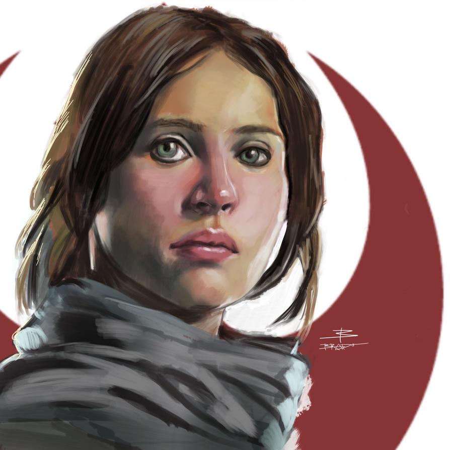 Rogue One - Jyn Erso by BeniaminoBradi