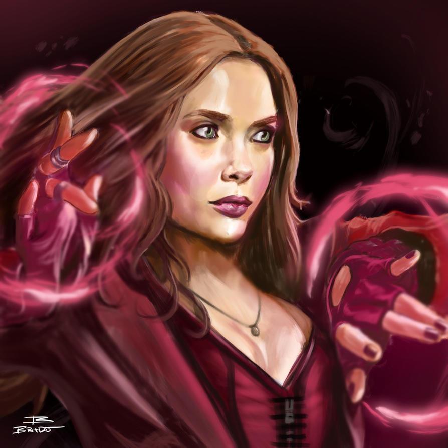 Scarlet Witch by BeniaminoBradi