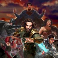 Justice League by BeniaminoBradi