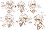 Expression Practice by Kitastrophee