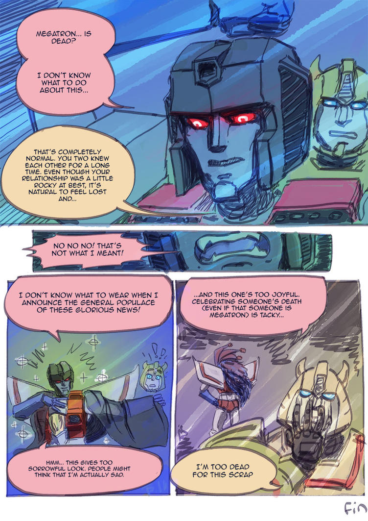 Starscream is an aft by Popetti