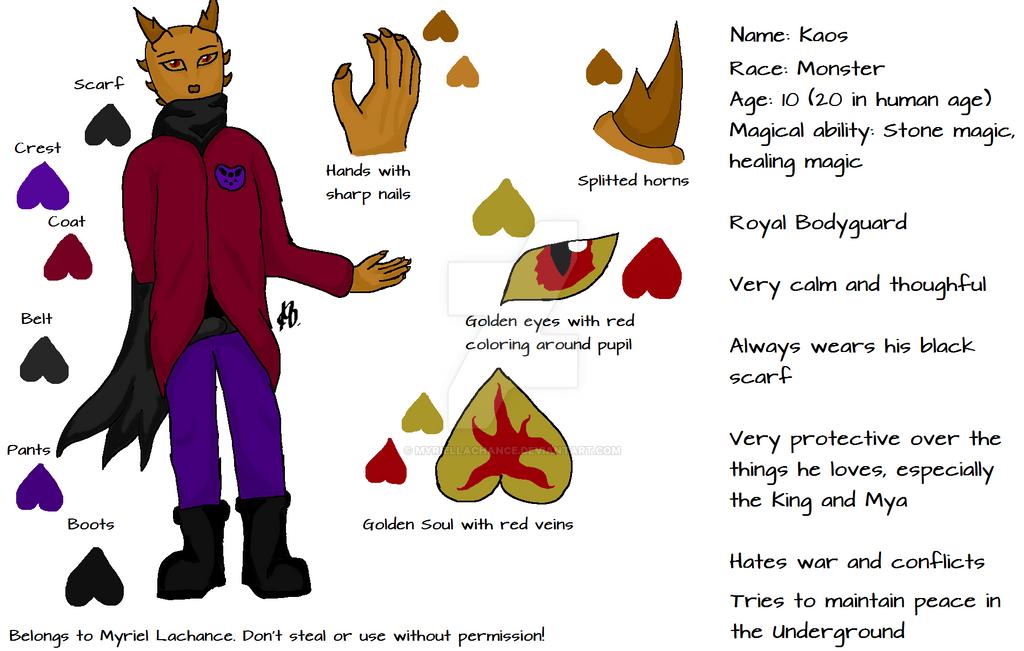 Kaos Reference Sheet by MyrielLachance