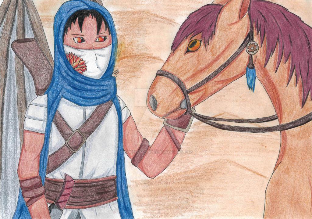 Desert Bountyhunter by MyrielLachance