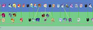 Dawnverse Family Tree (NO LONGER 100% CANON)