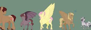 Dawnverse: Fluttershy Family (Updated)