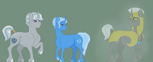 Dawnverse: Trixie Lulamoon Family