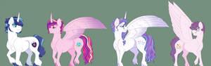 Dawnverse: The Crystal Royal Family