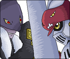 gallantmon vs beelzemon by xXxCartoxxXx