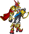 kingshoutmon V.2 by xXxCartoxxXx
