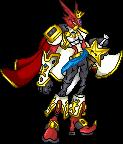 kingshoutmon V.2 by xXxCartoxxXx