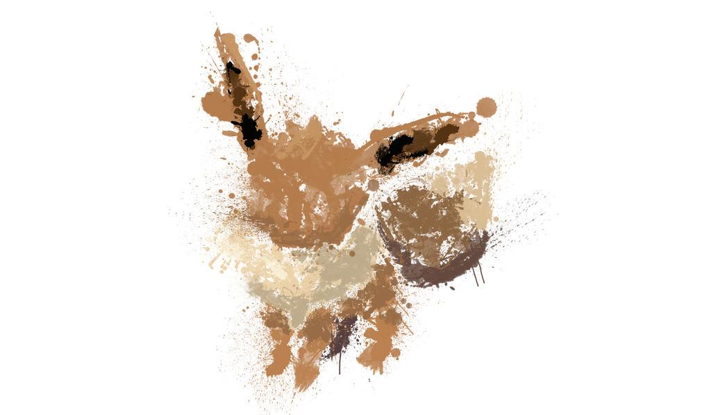 Paint Drip Eevee by ImpersonatingPanda