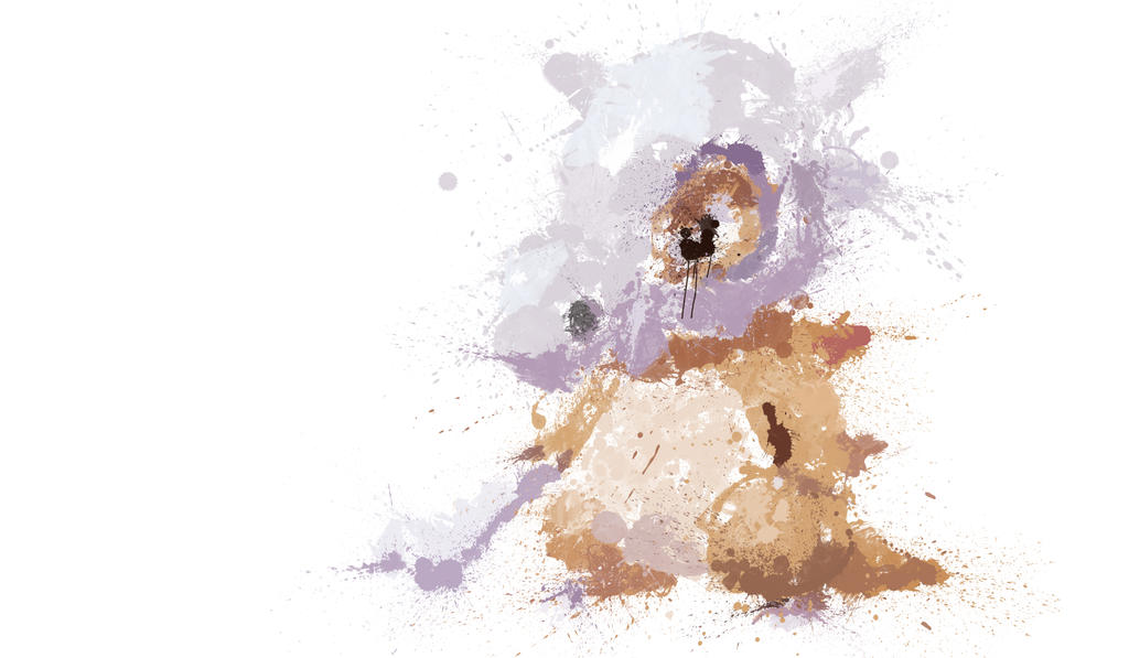 Paint Drip Cubone by ImpersonatingPanda