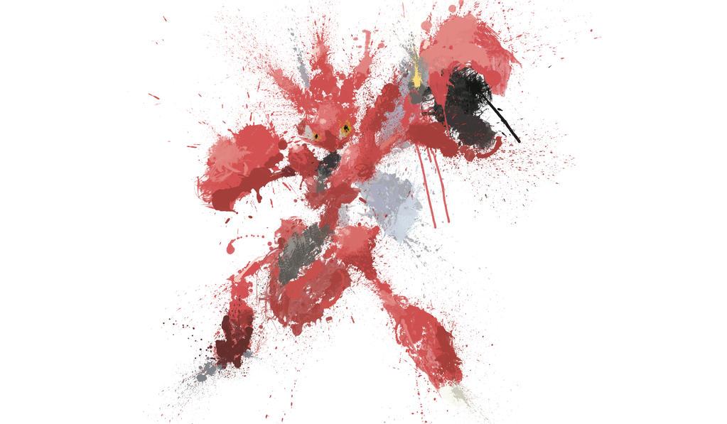 Paint Drip Scizor by ImpersonatingPanda