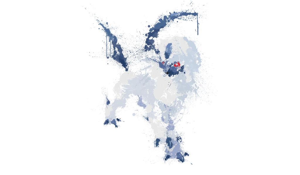 Paint Drip Absol by ImpersonatingPanda
