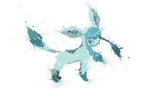 Paint Drip Glaceon