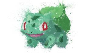 Paint Drip Bulbasaur by ImpersonatingPanda