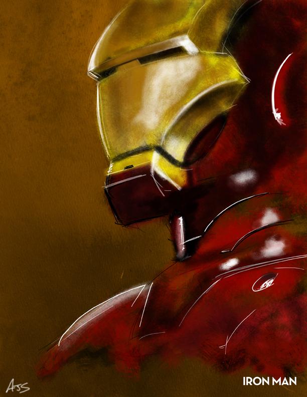 Iron Man 04 by AJSabino