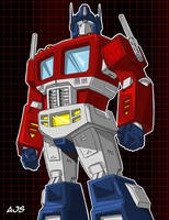 Optimus Prime 02 by AJSabino