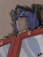 Optimus Prime 05 by AJSabino