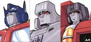 Sketch Cards - Transformers