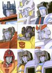 Sketch Cards - Transformers 2