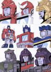 Sketch Cards - Transformers 4