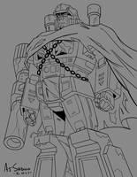 G1-Style DOTM Megatron by AJSabino