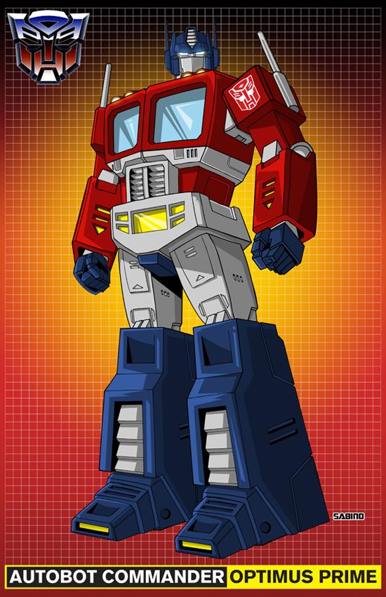 Optimus Prime by AJSabino