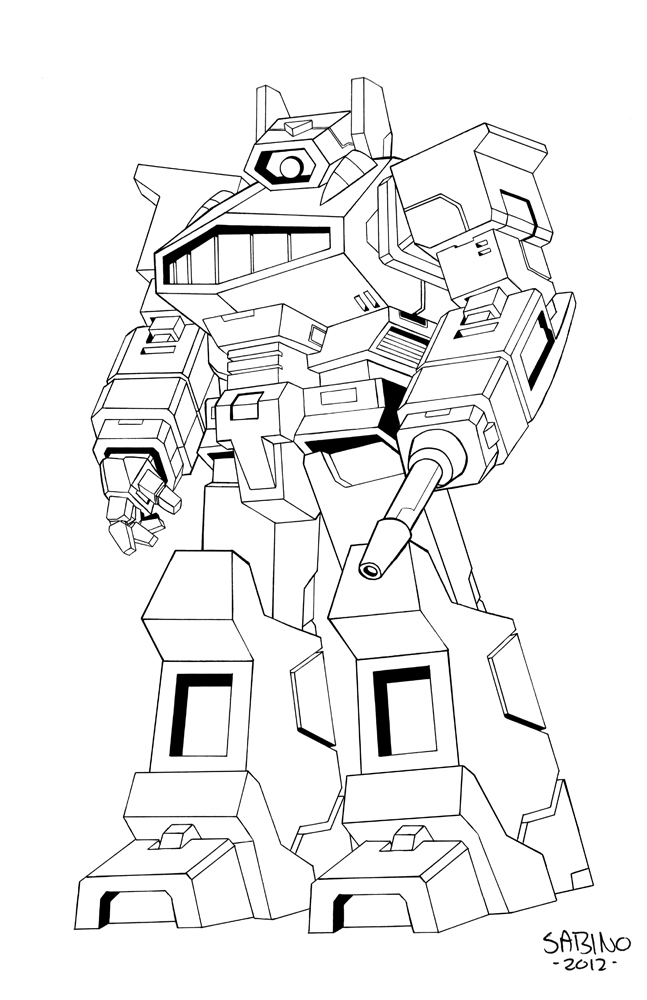 Ironhide transformers coloring pages coloring pages for Ironhide coloring pages