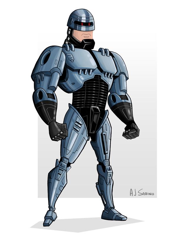 RoboCop by AJSabino