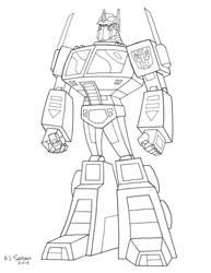G1 Animated Optimus Prime