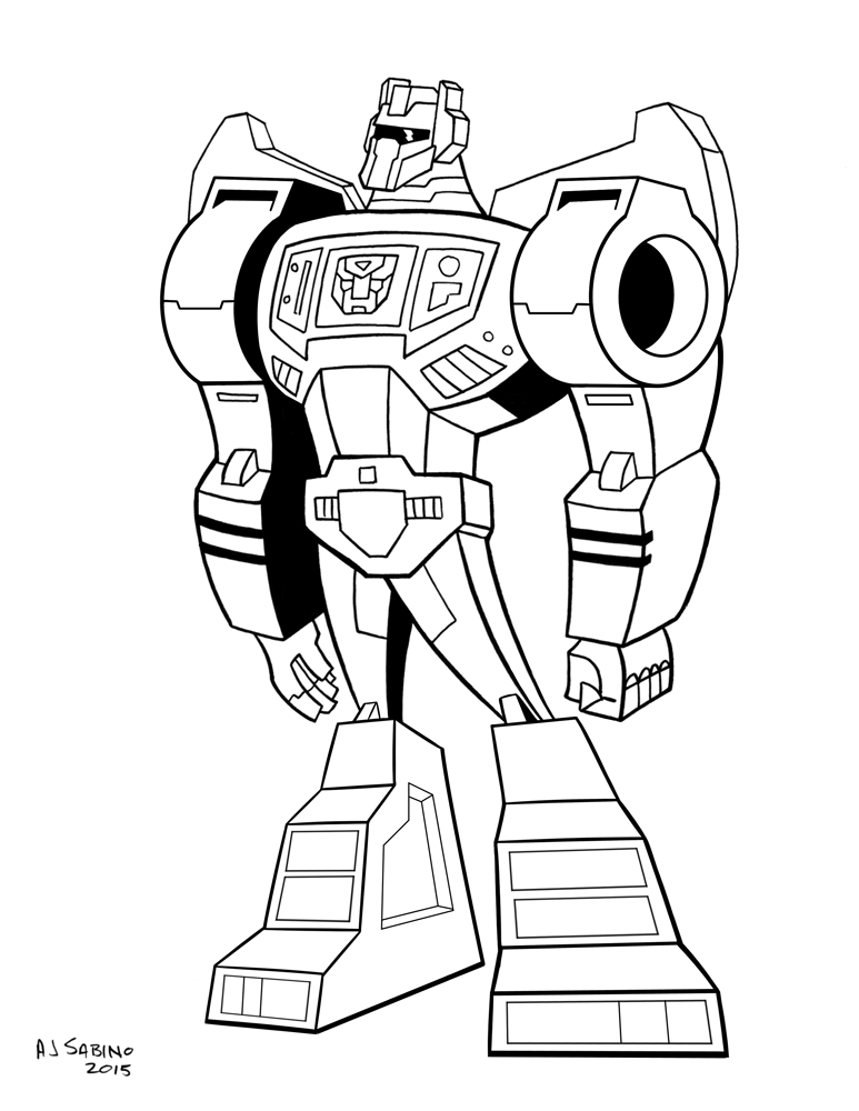 G1 Animated Grimlock by AJSabino