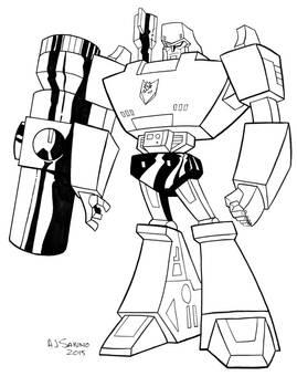 G1 Animated Megatron