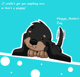 Puppy Mother's Day by Arthropleura