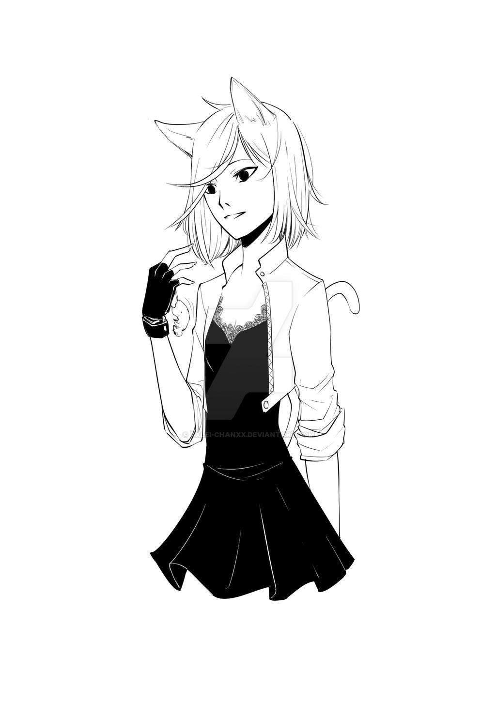 Catgirl by XxLei-chanxX