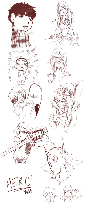 Your sketchdump by XxLei-chanxX