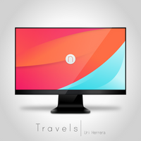 Travels - Numix Wallpaper by DevianTN7k1