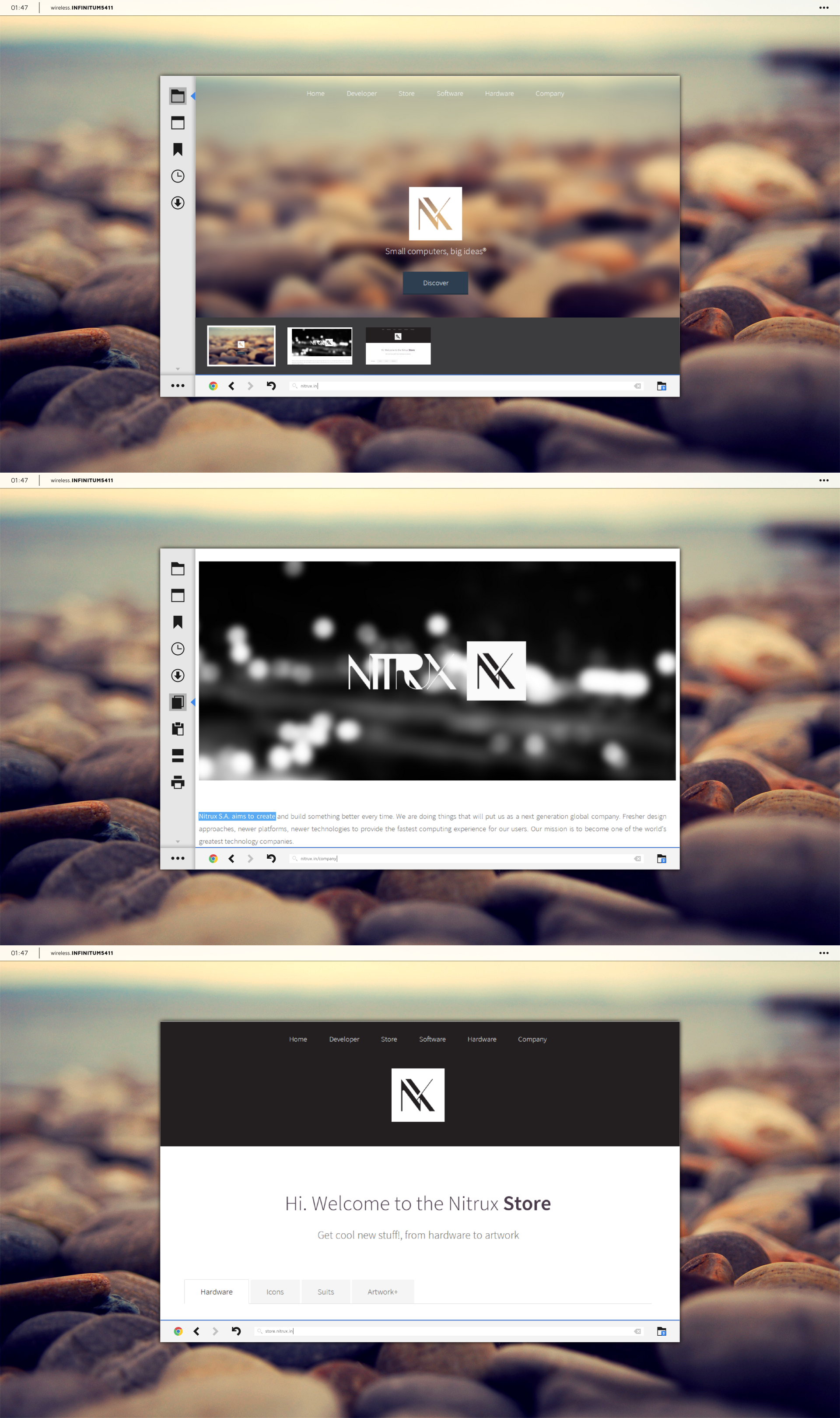 Google Chrome for Nitrux by DevianTN7k1