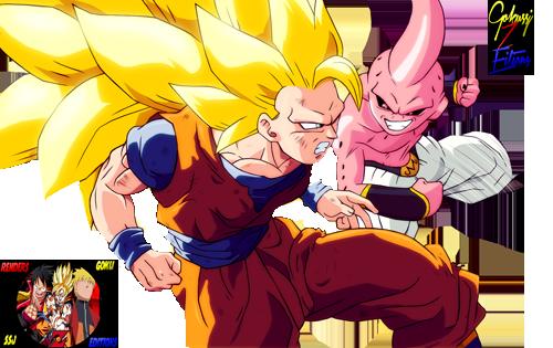 Goku vs kid buu by goku z editions on deviantart goku vs kid buu by goku z editions altavistaventures Choice Image