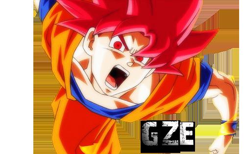 Goku Ssj Dios F Para Colorear Goku Ssj Dios F Para Imprimir: Render De Goku Ssj Dios By Goku-Z-Editions On DeviantArt