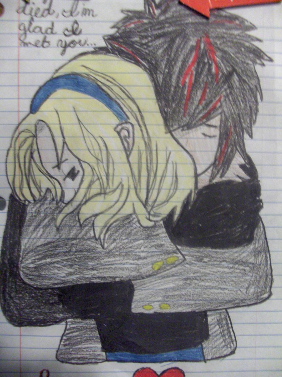 Anime guy hugging girl by aabvbeka15 on deviantart - Anime boy hugging girl ...