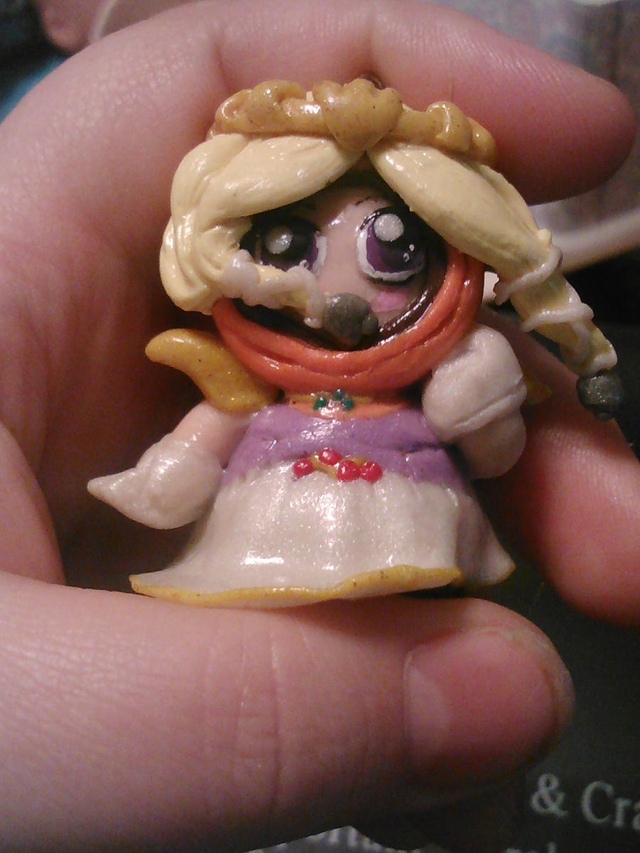 Princess Kenny figurine by ShadyDarkGirl