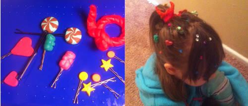 Vanellope Von Schweetz candy hair pins