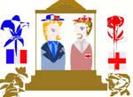 England x France by jazzyjaxxdeviant82