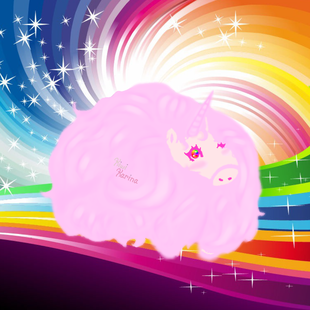 Pink Fluffy Unicorns Dancing On Rainbows by PinkiSpay on DeviantArt