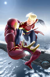 Civil War II - Ironman vs Captain Marvel