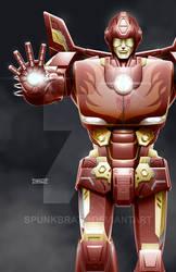TransAvengers: Rodimus Prime IronMan