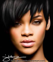 Rihanna Digital Art by jhoimadz